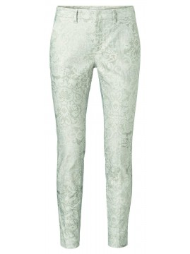 YAYA Chino trousers with floral print