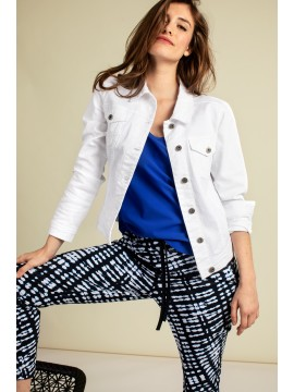 Studio Anneloes Isabel White Jeans Jacket