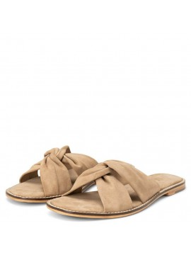 YAYA Suede Cross Slipper