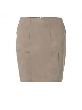YAYA Faux Leather Skirt